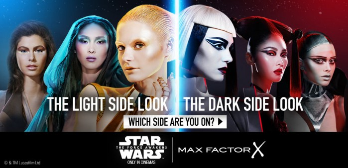 star Wars Force Awakens Max Factor