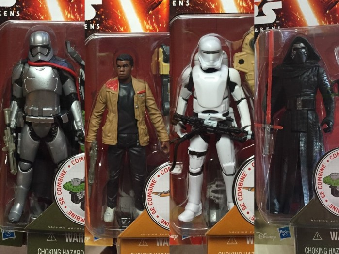 Star Wars Force Awakens Action Figures