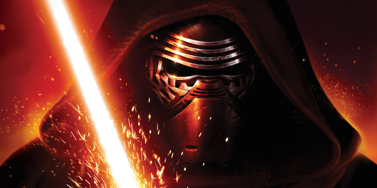 Kylo Ren Force Awakens film marketing