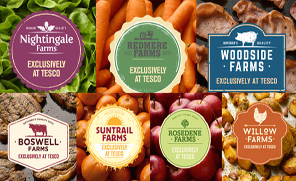 Tesco farm brands