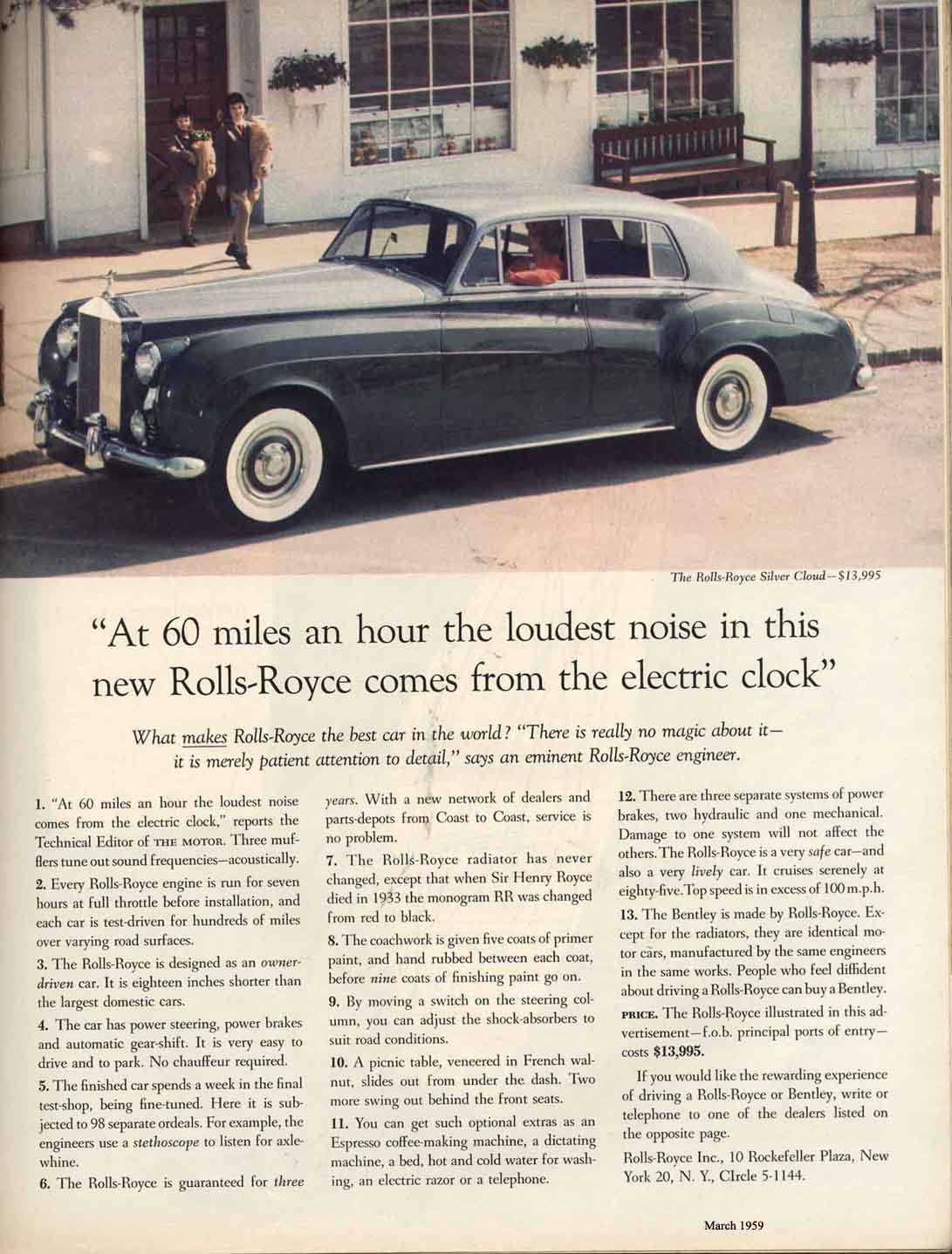Rolls-Royce Ogilvy Advert